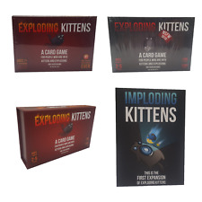 EXPLODING KITTENS CARD GAME FOR PEOPLE INTO KITTENS & EXPLOSIONS /CHOOSE EDITION