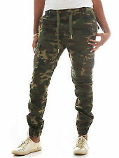 Riflessi Women's Stretch Twill Cargo Jogger Pants