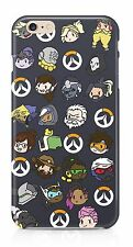 Overwatch Doodles Phone Case For Apple iPhone, Sony, Samsung, LG, Google HTC