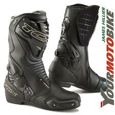 TCX S-Speed GTX Waterproof Road Race Track Leather Motorcycle Boots with Sliders