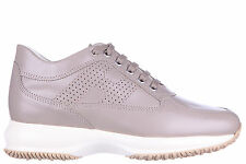 HOGAN SCARPE SNEAKERS DONNA IN PELLE NUOVE INTERACTIVE H BUCATA ALTRAVERSION E68