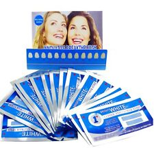 1HR PRO TEETH WHITENING STRIPS 3D PROFESSIONAL ENAMEL SAFE AUTHENTIC FAB WHITE