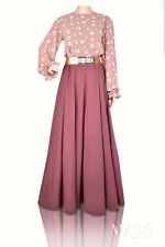 Dress/ Jilbab/ Abaya/ Kaftan - UK Size 10  - Lengths 50,51,52,53,54,55,56,57,58