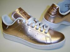 Adidas Stan Smith Metallic Rose Gold Womens Girls Mens Trainers BA7661