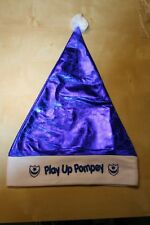 Pompey Portsmouth F.C.Play Up Pompey or Blue Army Blue Santa Hat Xmas