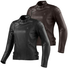 Rev'it Bellecour Chaqueta De Cuero Moto Mujer Leather Jacket Señora Motocicleta