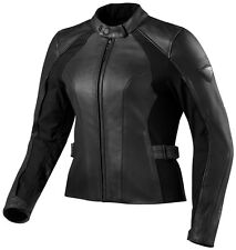 Rev'it Allure Evo Veste En Cuir Moto Femme Blouson Cuir Lady Moto Revit