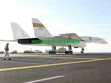 North American Aviation XB-70 Valkyrie  Color Photo Military Nasa Bomber USAF