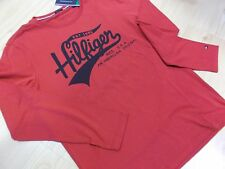 "T.SHIRT  TOMMY HILFIGER  ""PRINT""  ROUGE Taille  M-XL"
