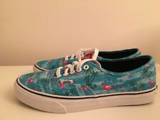 Womens Vans Authentic MLX Flamingo Blue Red Trainers