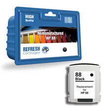 Refresh Cartuchos Negro 88XL Tinta Compatible con hp Impresoras