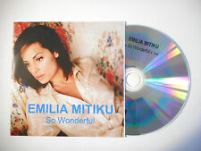 EMILIA MITIKU : SO WONDERFUL ♦ CD SINGLE PORT GRATUIT ♦
