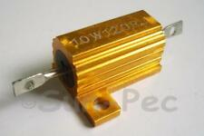 Wirewound resistor 10W +-5% 0.1 - 5.1K Ohm various 1-2pcs Aluminium Housed Clad