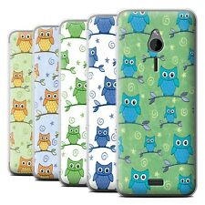 STUFF4 Phone Case/Back Cover for Nokia 230 /Cute Owl Pattern