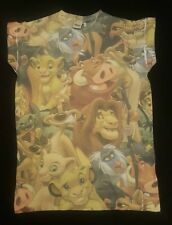 PRIMARK LADIES DISNEY THE LION KING MULTI SIMBA T SHIRT TEE TOP UK 6 - 20 NEW