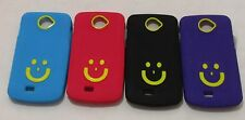 Micromax Canvas Engage A 091 Soft Silicon Smiley Back Cover Cases