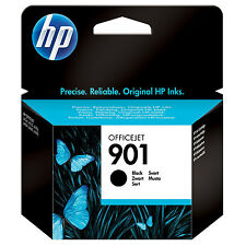 ORIGINALE HP HEWLETT PACKARD OFFICEJET CARTUCCIA INCHIOSTRO NERO 901 (CC653AE)