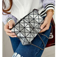 New Girl Geometric Diamond Lattice Clutch Bag BaoBao Patchwork Messenger Handbag