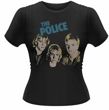 THE POLICE - Outlandos d'amour - T-Shirt Officiel Femme