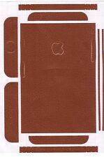 Leather Texture Skin For Apple iPhone 5/6/7 and s also Plus