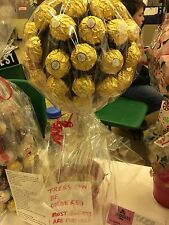 Birthdays Weddings Gifts Ferrero Rocher Lollipop Sweet Tree Cone