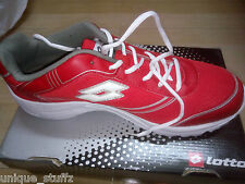 Authentic Lotto Jumper Red and White Sports Running Shoes New Branded Lotto Shoe