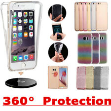 Shockproof 360° Silicone Protective Clear Case Cover For Apple iPhone Models