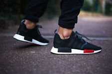 Adidas NMD Runner Boost NMD_R1 Black White Red 6 7 8 9 10 11 Limited one AQ4498