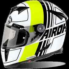 CASCO HELMET INTEGRALE AIROH 2017 GP500 GRAFICHE SCRAPE YELLOW GLOSS MOTO LUCIDO