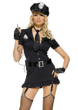 Womens Sexy Dirty Cop Costume