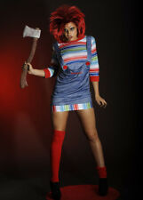 Ladies Childs Play Sexy Chucky Girl Costume