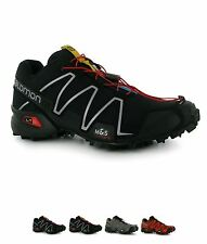 SALDI Salomon Speedcross 3 Uomo Trail Scarpe running Black/Black