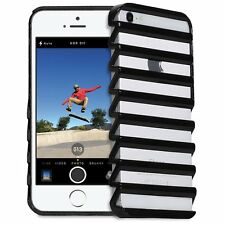 3D Hollow High Ladder Shape thin Zigzag Case For Apple iPhone 5, 5s, 6, 6s, 6+