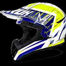 CASCO HELMET OFF ROAD AIROH 2017 SWITCH STARTRUCK YELLOW GLOSS GIALLO LUCIDO