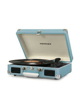 Portable Record player turntable vinyl bluetooth Crosley Turquoise retro vintage