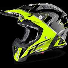 CASCO HELMET JUNIOR AIROH 2017 AVIATOR JUNIOR CAIROLI MANTOVA GLOSS LUCIDO