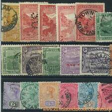 Collection de timbres Tasmanie oblitérés