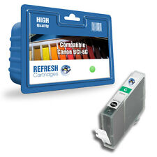 Refresh Cartucce Verde BCI-6G 9473A002 Inchiostro Compatibile con Canon