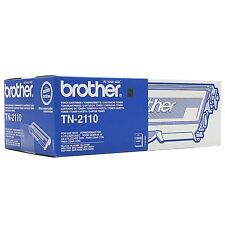 AUTENTICO BROTHER TN-2110 NERO STAMPANTE LASER CARTUCCIA TONER PER HL/DCP/MFC