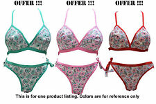 LOVELY SEXY BRIDAL LINGERIE SET - BRA PANTY SET - [MIXED COLOR] [SG MODEL]
