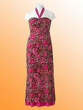 JD Williams Mujer Joanna Hope Reversible Vestido Halter Talla 44 Cerise