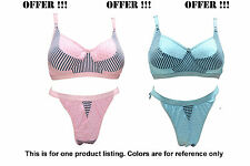 LOVELY SEXY BRIDAL LINGERIE SET - BRA PANTY SET - [MIXED COLOR] [SG POONAM]