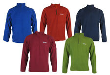 Mens Regatta Proffesional lightweight fleece half zip M L XL to plus 5xl
