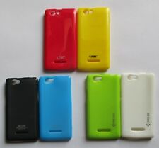 Xolo A 500s Soft Silicon Mobile Back Cover Cases