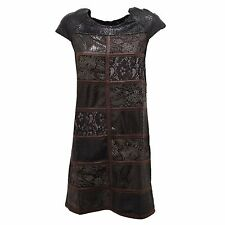 2543R vestito donna CUSTO BARCELONA FANZINE BLACK cotone dress  woman