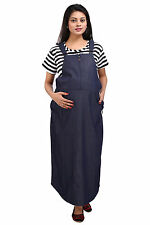 MomToBe Denim Dungaree Maternity Dress