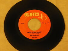 """The Beatles - Twist And Shout / There's A Place 7"""" 45 - Oldies 45 - OL-152 - Po"""