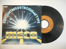 MECO : THEME FROM CLOSE ENCOUNTERS / ROMAN NIGHTS ♦ 45t. PORT GRATUIT ♦