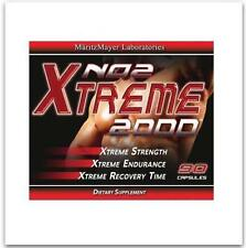 XtremeNO 2 Nitric Oxide  MUSCLE BUILDER Build Mass Supplement Muscle Gain 6 PACK