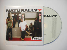 NATURALLY 7 : FEEL IT ( IN THE AIR TONIGHT ) ♦ CD SINGLE PORT GRATUIT ♦